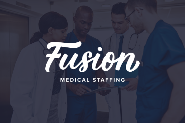 Fusion Medical Staffing Case study - Blue