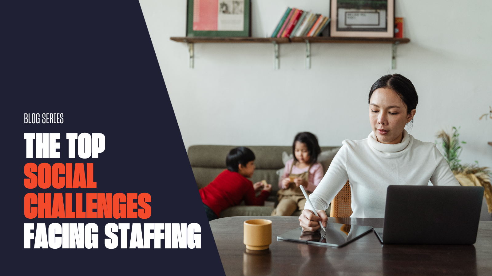 Remote Work: Top Social Challenge Facing the Staffing Industry